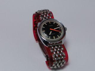 Timex Electric 60/70er Jahre,  Herrenuhr In Stahl Bild