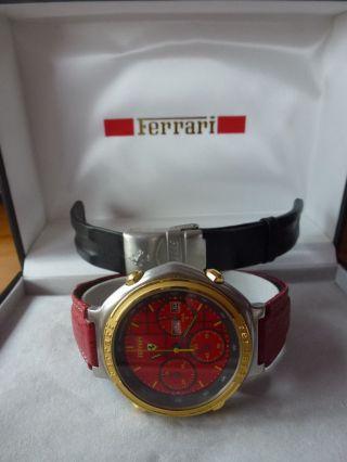 Ferrari Cartier Nr.  285818 Formula Herrenuhr Wie,  Seltene Sammleruhr Bild