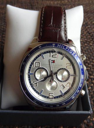 Tommy Hilfiger Colton 1790937 - Chronograph - Braun Herrenarmbanduhr Uhr Top Bild