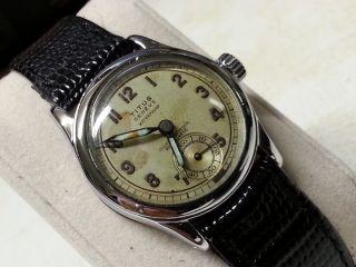 Military Titus Vintage Swiss Watch Wwii Ww2 Militaruhr Dienstuhr Uhr Bild