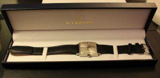 Eterna Matic 2000 Centenaire Herren Uhr In Ovp Bild