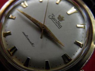 Biete Aus Sammlung Zentra Automatic Herrenuhr Uhr (made In Germany) Vintage Bild