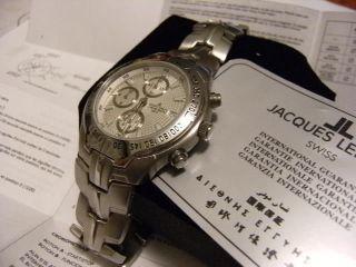 Jaques Lemans Chronograph,  War Ein Geschenk,  Ungetragen,  Tadellos. Bild