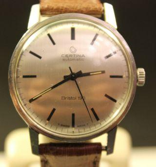 Certina Bristol 190 Automatic Herren Uhr Bild