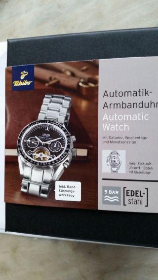 Tchibo Automatik Armbanduhr Bild