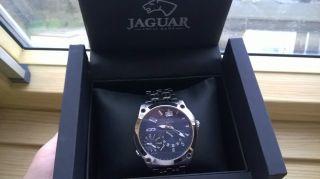 Jaguar Dual Time Herren Uhr Edelstahl Mod.  : J629c Bild