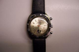 Sammlerstück Kal.  24 - 35 Ruhla Quarz Chronograph Ddr / Umf Armbanduhr Bild
