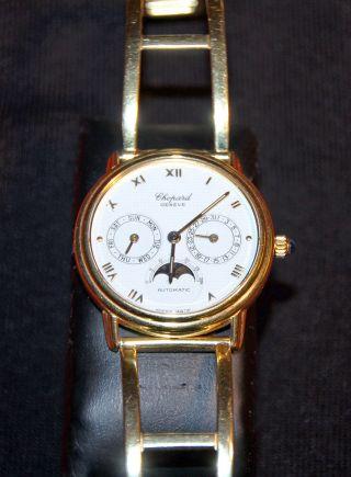 Chopard Luna D ' Oro In 18k/750 Gelbgold Mit Spangenarmband In 14k/585 Gelbgold Bild