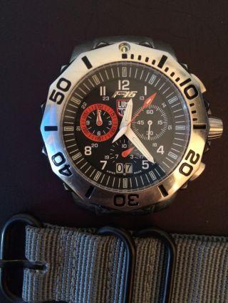 Luminox F - 16 Chrono Armbanduhr Bild