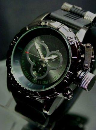 Animoo Xxxl Schwere Monster Armbanduhr Gigantische Kautschuk Herrenuhr Bild