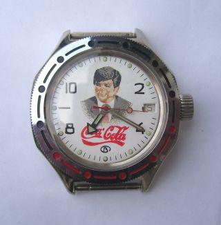 Russische Armband Uhr Automatik Kal.  2416 - Um 1995 Bild