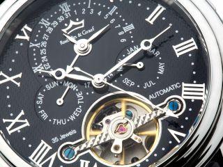 Roebelin & Graef Luxus Automatikuhr,  Armbanduhr,  Herrenuhr,  Verpack Bild