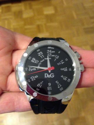 Dolce & Gabbana Uhr Schwarz Bild