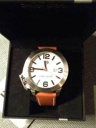 Danish Design Quarz Herrenarmbanduhr Uhr Iq12q915 Mit Datumsanzeige (lupe) Bild