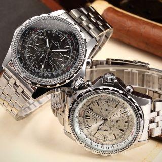 U Ks Automatikuhr Xl Herren Automatikuhr Mechansich Uhr Edelstahl Armbanduhr Bild