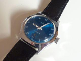 Ruhla Uhr,  Herrenuhr,  Vintage Ddr,  70er 80er Jahre Bild