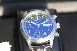 Iwc Fliegerchronograph Ref.  3706,  Box,  Papiere Bild