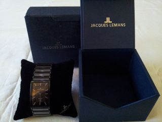 Jacques Lemans - Herrenarmbanduhr Bild