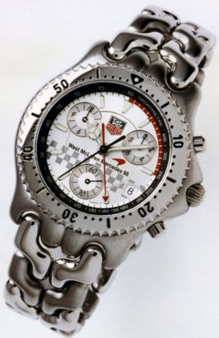Tag Heuer Mclaren Mercedes 98 Limited Edition Bild