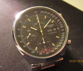 Klassischer Automatik Chronograph In - 7750 Bild
