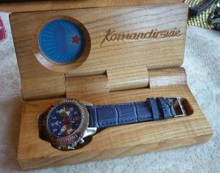 Boctok Komandirskie Herrenuhr Chronograph - Handaufzug - Rar Bild