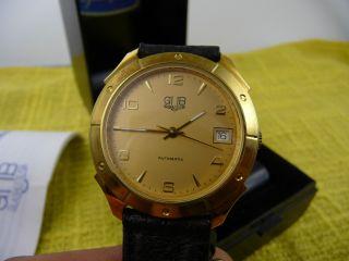 Glashütte Gub Automatik Armbanduhr Absolut Und Ungetragen.  Nos Bild