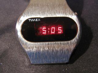 Vintage Led Hau Watch Digital Timex Ssq 1976 Bild
