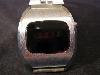 Vintage Led Hau Watch Digital Kienzle 1976 Bild