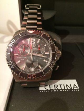 Certina Diver Ds Action Chrono Titan C013.  417.  44.  087.  00 Chronograph Titanium Bild