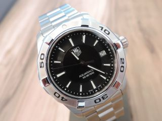Tag Heuer Aquaracer - Wap1110 - Quartz - Basel World Neuheit 2014 - - 43mm Bild