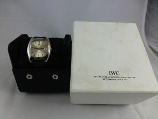 Iwc Türler Kal.  C.  8541 B Automatik,  Edelstahl,  Box,  Vintage 1920 - 70 Bild