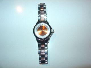 Orig.  Lbvyr La Gacilly France Quartz - Armbanduhr Mit Aluminium - Armband 2014 Bild