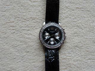 Damen - Armbanduhr Fabiani In Schwarz Bild