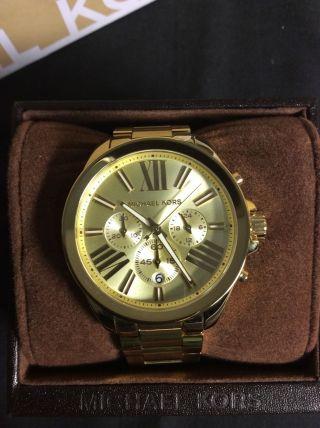 Michael Kors Damenuhr Mk5711 - Gold Chronograph Bild