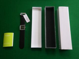 Armbanduhr,  Damen,  Madison,  Schwarz,  Quadratisch,  Schön Bild