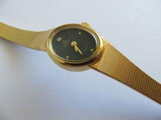 Schöne Anker Selektion Damen Armbanduhr Schweiz Quarz Gold Diamant Läuft Bild