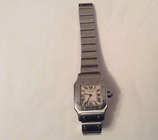 Cartier Armbanduhr Santos Damen Uhr Ref 1565 Bild