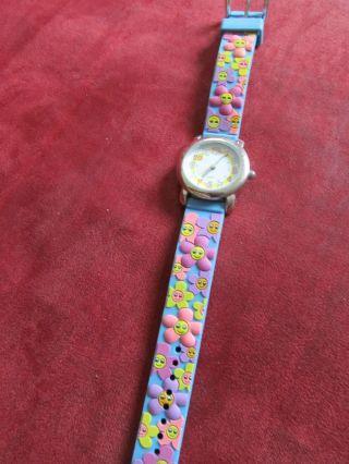 Kinder Armbanduhr Für Mädchen Blumen Bild