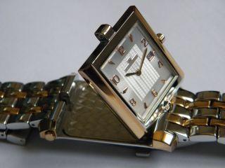 Jacques Lemans - Bicolor Uhr Mit Wendegehäuse & Spiegel & Ungetrage Lp: 349€ Bild