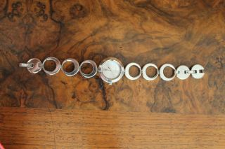 Uhr Dkny Silber Glänzend Donna Karen York Bild