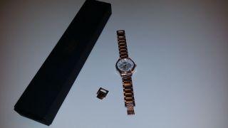 Damen Rose Gold Buffalo Uhr Mit Ovp - Batterien - Bild