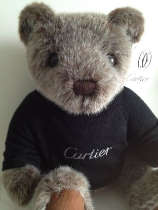 Orig Cartier Collector Bear 2002