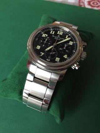 Blancpain Flyback Chronograph Bild