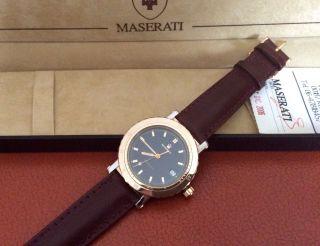 Maserati 1914 Official Timepiece Trident Automatic Uhr Armbanduhr Bild