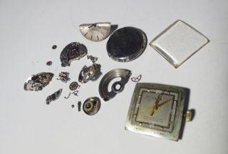 Laco (funktioniert) Und Eterna Automatik Uhr Ziffernblatt Uhrwerk Zubehör Bild