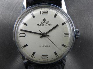 Meister - Anker 17 Jewels Handaufzug Gut Bild