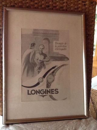Longines Plakat Top Bild