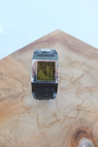 Diesel Armbanduhr Schwarz/silber Lederarmband Top Bild