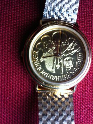 Wiener Philharmoniker Uhr: Ziffernblatt 1/2 Unze,  Schweizer Uhrwerk,  J.  Lemans Bild