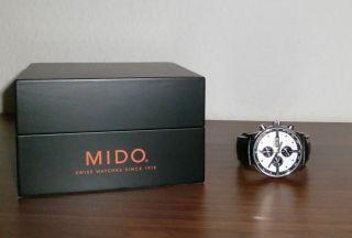 Mido Multifort Chronograph Uhr Incl 2.  Armband Neuwertig Bild